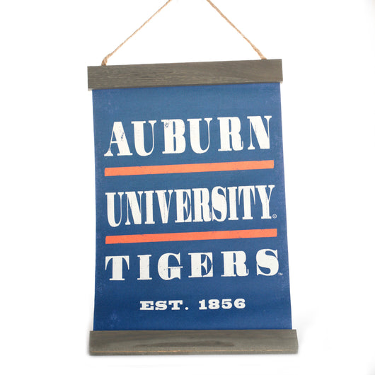 Auburn University Blue/Grey Banner