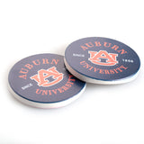 Auburn University Navy Car Coaster 2 Pack
