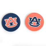 AU Logo Navy & Orange Car Coaster 2 Pack