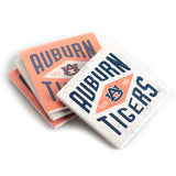 Auburn Tigers Diamond 4 Pack Coaster Set