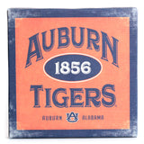 Auburn Tigers Orange/Navy 9x9 Canvas