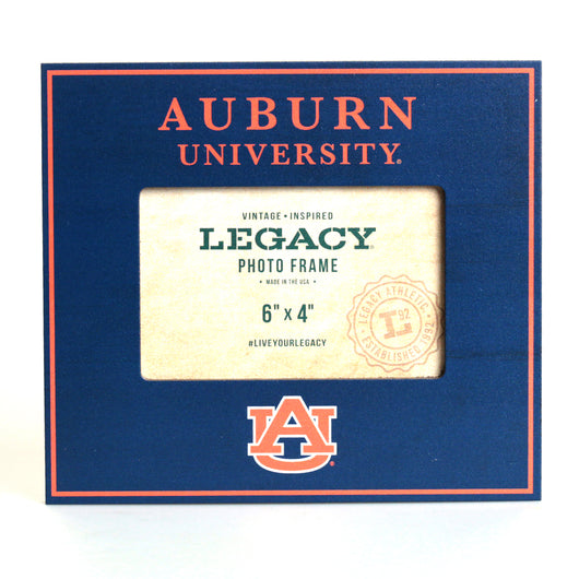 Auburn University Navy 4x6 Horizontal Picture Frame