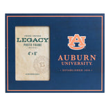 Auburn University Navy 6x4 Vertical Side Picture Frame