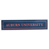 Auburn University Navy 2.5x12 Sign