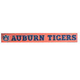 Auburn Tigers 2.5x20 Sign in Orange