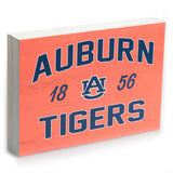 Auburn Tigers 1856 Orange 10x7 Box Sign