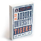 Auburn Chronicle 10x7 Box Sign on White