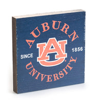 Auburn University Navy 5.5x5.5 Sign