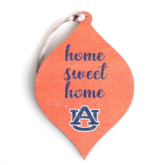 Auburn Home Sweet Home Wooden Ornament