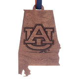Wooden State Logo Ornament