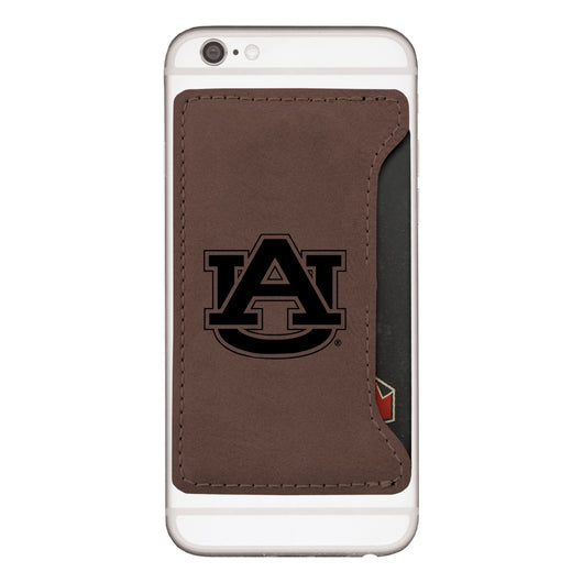 Auburn Velour Cell Phone Card Holder