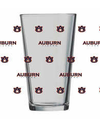 Auburn Step and Repeat Pint Glass