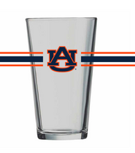 Auburn Stripes Pint Glass
