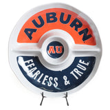 Auburn Heavy Melamine Round Section Platter