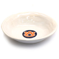 AU Logo White Large Bowl