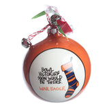 Auburn Stockings Ornament