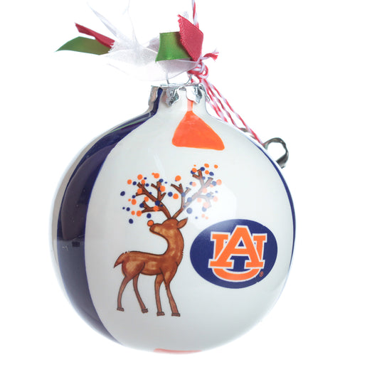 AU Reindeer Ball Ornament