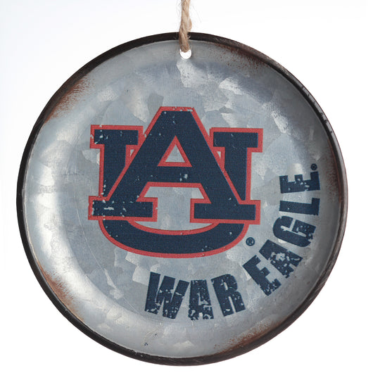 AU Metal Disc Ornament
