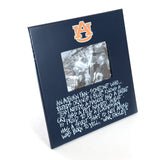 Definition of an Auburn Fan Blue Photo Frame