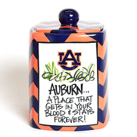 Auburn Canister or Cookie Jar