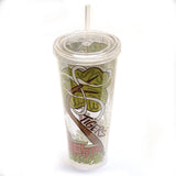 Auburn Corner 22 ounce Tumbler with Lid and Straw
