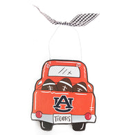 AU Wooden Truck Ornament