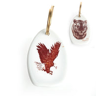Tiger and Eagle Keychain