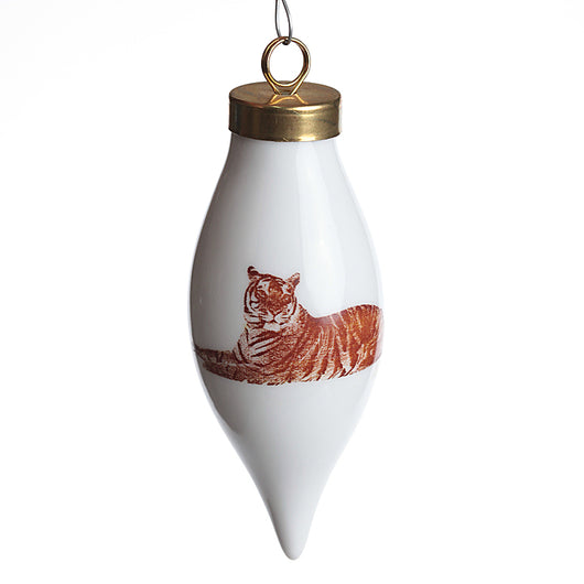 Teardrop Tiger Ornament