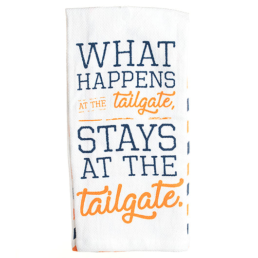 What Happens at the Tailgate Hand Towel