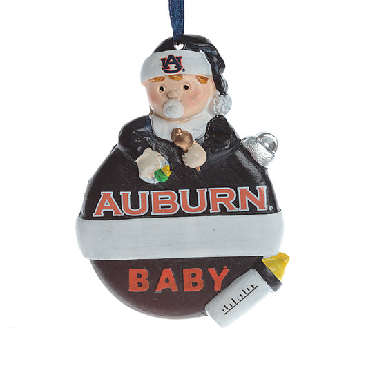 Auburn Baby's First Christmas Ornament