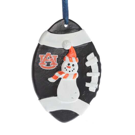 Auburn Single Snowman Ornament