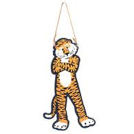 Aubie Wood Ornament/Door Knob Hanger