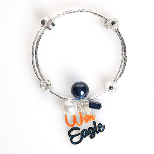 War Eagle Slogan Bracelet