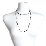 Navy Crystal Stretch Necklace/Bracelet