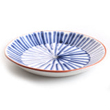 Porto Salad Plate in Blue