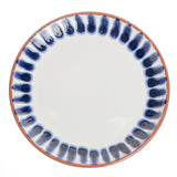 Porto Striped Border Appetizer Plate