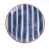 Porto Striped Appetizer Plate