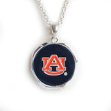 Round AU Logo Necklace