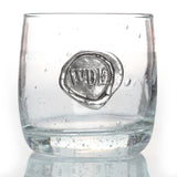 WDE Stamp Double Old Fashioned Glass