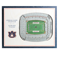 Jordan Hare Stadium Small Wall Art