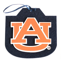 Navy Felt with Orange AU Ornament