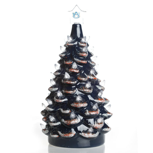 Auburn Ceramic Light Up Tree