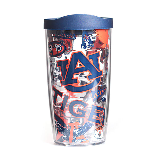 Auburn 16oz All Over Tervis Tumbler with Lid