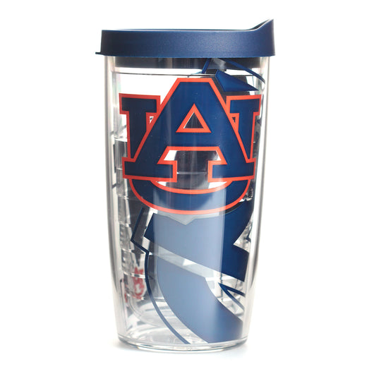 Auburn 16oz Genuine Wrap Tervis with Lid