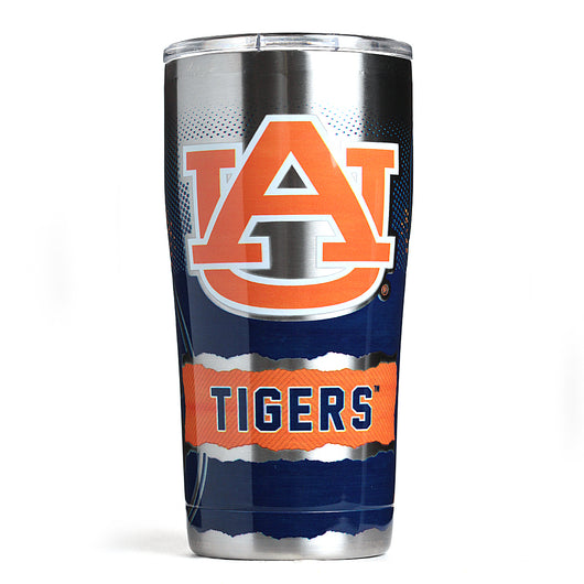Auburn 20oz Metal Knock Out Insulated Tumbler w/ Lid