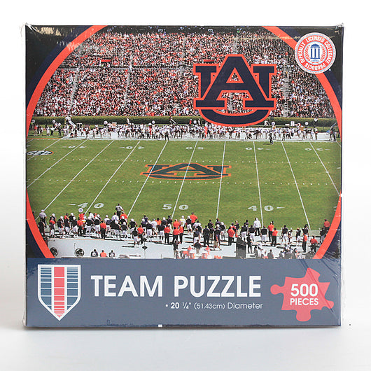 Auburn 500 Piece Stadium Team Puzzle