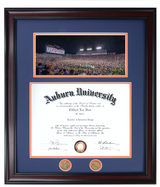 "2019 ""Rush the Field"" Iron Bowl Diploma Frame"