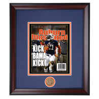 Auburn Illustrated Chris Davis Kick Bama Kick