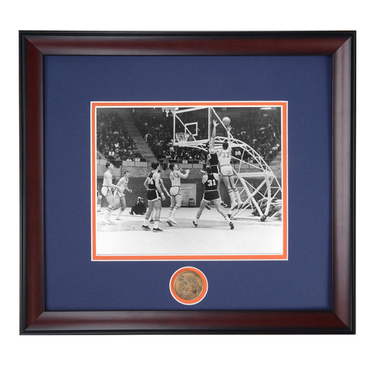 Auburn Tiger Vintage Basketball Photo in Memorial Coliseum