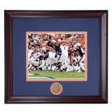 Auburn Tigers Football Cam Newton #2 Quarterback Over the Top Framed Photo